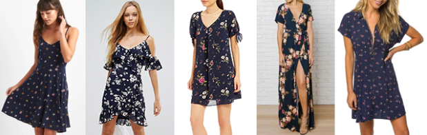 NavyFloralDresses